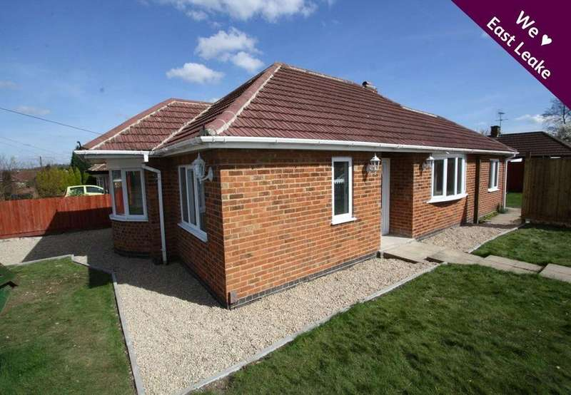 2 Bedrooms Detached Bungalow for sale in Oldershaw Road, East Leake, Loughborough, LE12