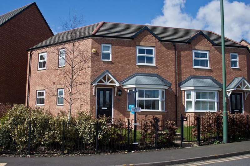 3 Bedrooms Semi Detached House for sale in Silver Street, Brownhills