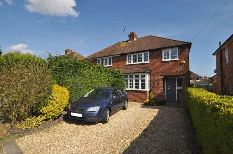 3 Bedrooms Semi Detached House for sale in Rydes Avenue, Guildford