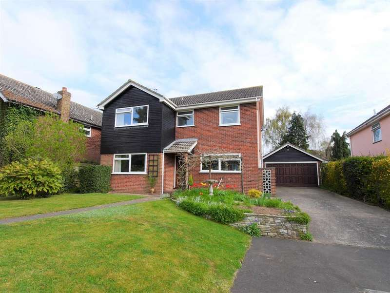 4 Bedrooms Detached House for sale in 2 Watermill Close, Layham, Ipswich, Suffolk, IP7 5LD