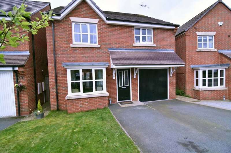 4 Bedrooms Detached House for sale in Hatherton Avenue, Brindley Village, Stoke-On-Trent, ST6