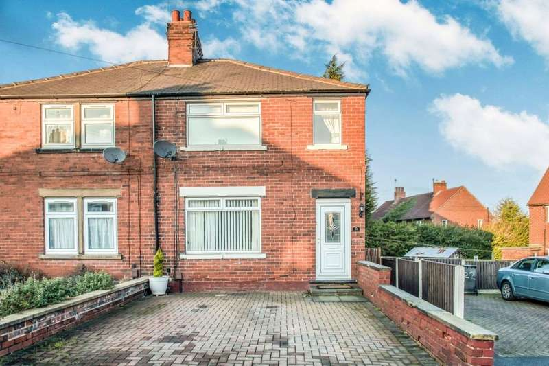 3 Bedrooms Semi Detached House for sale in Vicarage Avenue, Gildersome,Morley, Leeds, LS27