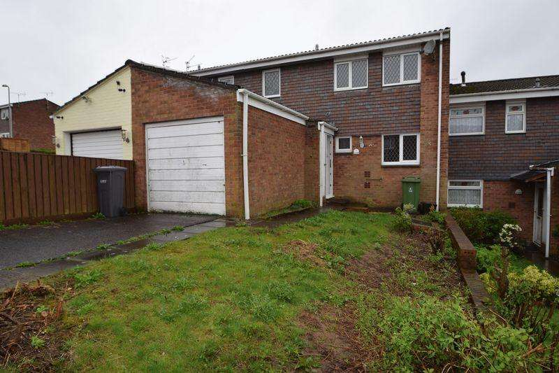 3 Bedrooms Terraced House for sale in Trostrey, Hollybush