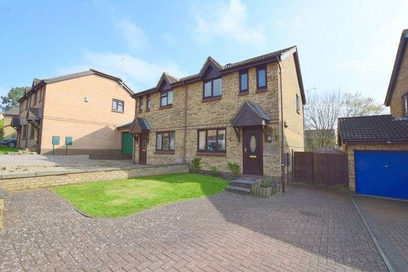 3 Bedrooms Semi Detached House for sale in Westwood Close, Great Holm, Milton Keynes