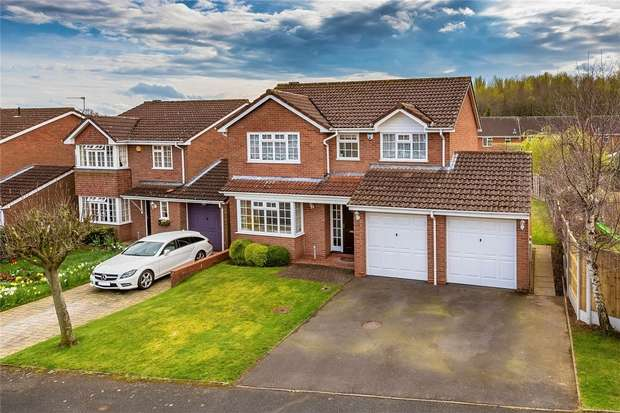 4 Bedrooms Detached House for sale in Powell Road, Priorslee, Telford, Shropshire