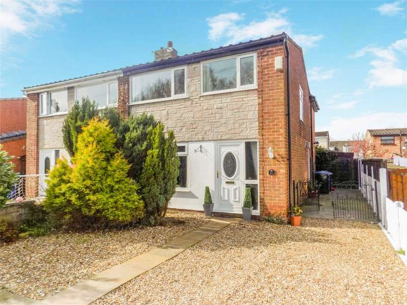 3 Bedrooms Semi Detached House for sale in Clancutt Lane, Coppull, Chorley, Lancashire