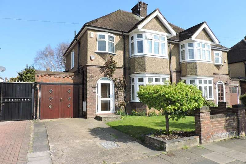 3 Bedrooms Semi Detached House for sale in Fountains Road, Luton, Bedfordshire, LU3 1LU