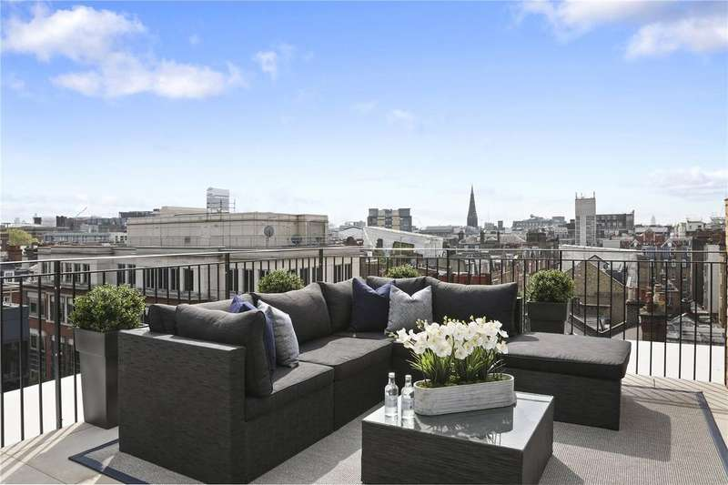 3 Bedrooms Penthouse Flat for sale in The Fitzbourne, 91 New Cavendish Street, Fitzrovia, London, W1W