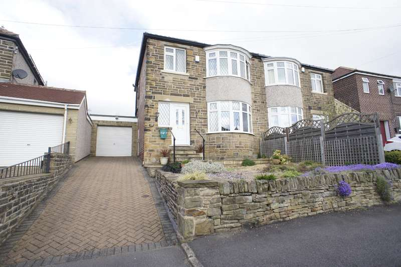 3 Bedrooms Semi Detached House for sale in Beauchief Rise, Beauchief, Sheffield S8 0EL