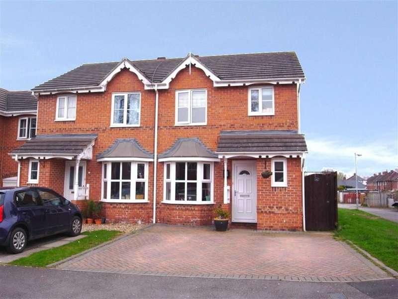 3 Bedrooms Semi Detached House for sale in Kingsbury Mews, Darlington