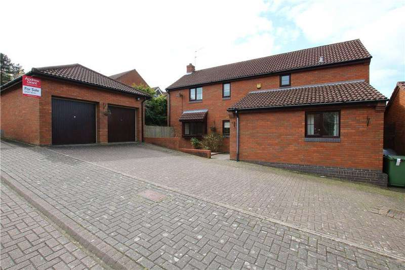 4 Bedrooms Detached House for sale in Tanwood Close, Callow Hill, Redditch, Worcestershire, B97