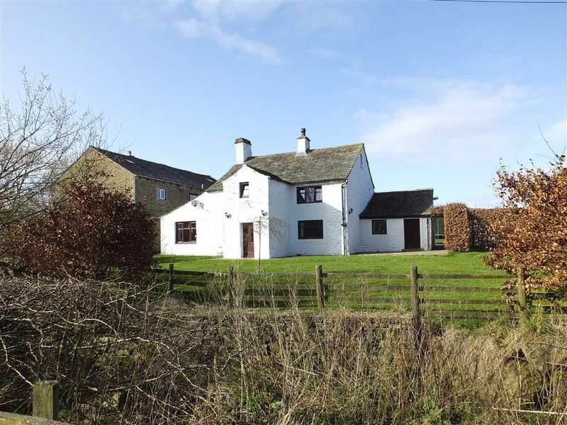 4 Bedrooms Farm House Character Property for sale in Greenberfield Lane, Barnoldswick, Lancashire, BB18