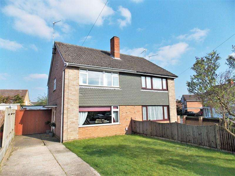3 Bedrooms Semi Detached House for sale in Holmwood Avenue, Southcote, Reading