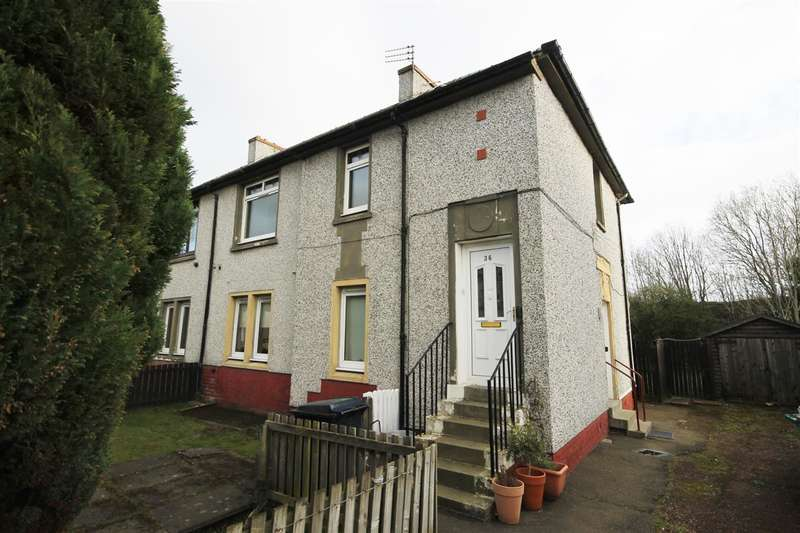 2 Bedrooms Flat for sale in Russell Street, Mossend