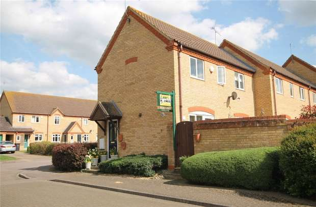 3 Bedrooms End Of Terrace House for sale in Riverside View, Milton Ernest