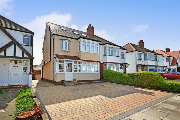 4 Bedrooms Semi Detached House for sale in Paxford Road, WEMBLEY, Middlesex