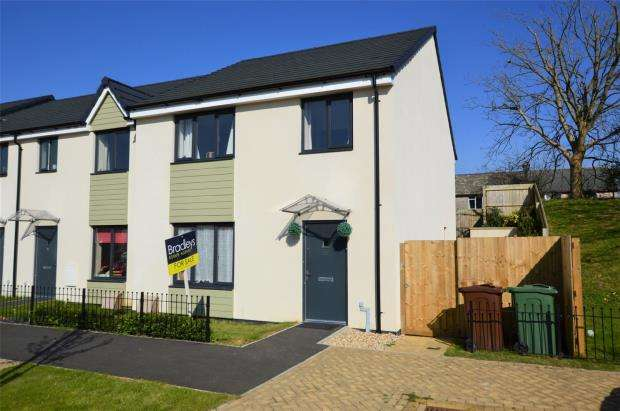 4 Bedrooms Semi Detached House for sale in Harlyn Drive, Plymouth, Devon
