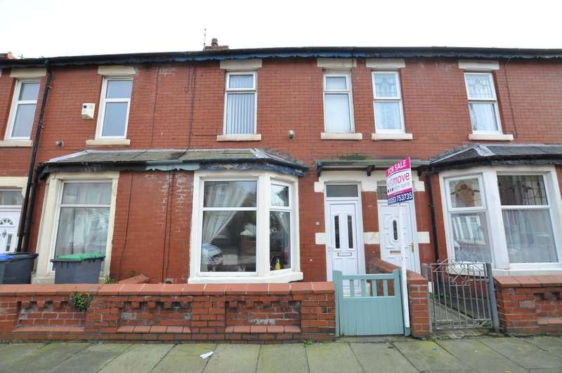 2 Bedrooms Terraced House for sale in Portland Road, Blackpool, Lancashire, FY1 4EF