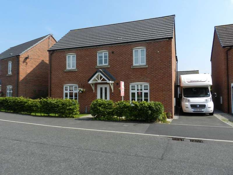 4 Bedrooms Detached House for sale in Douglas Avenue, Wesham, Preston, Lancashire, PR4 3DY