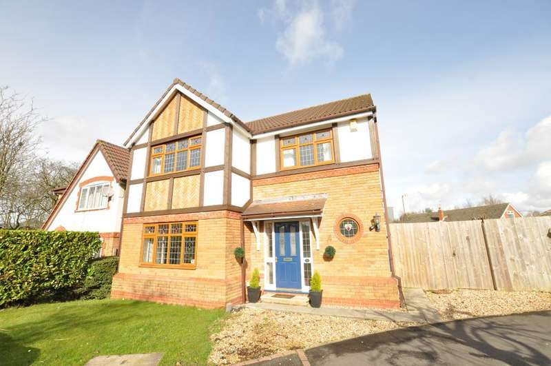 4 Bedrooms Detached House for sale in Oxley Close, St George's Park, Kirkham, Preston, Lancashire, PR4 2DY
