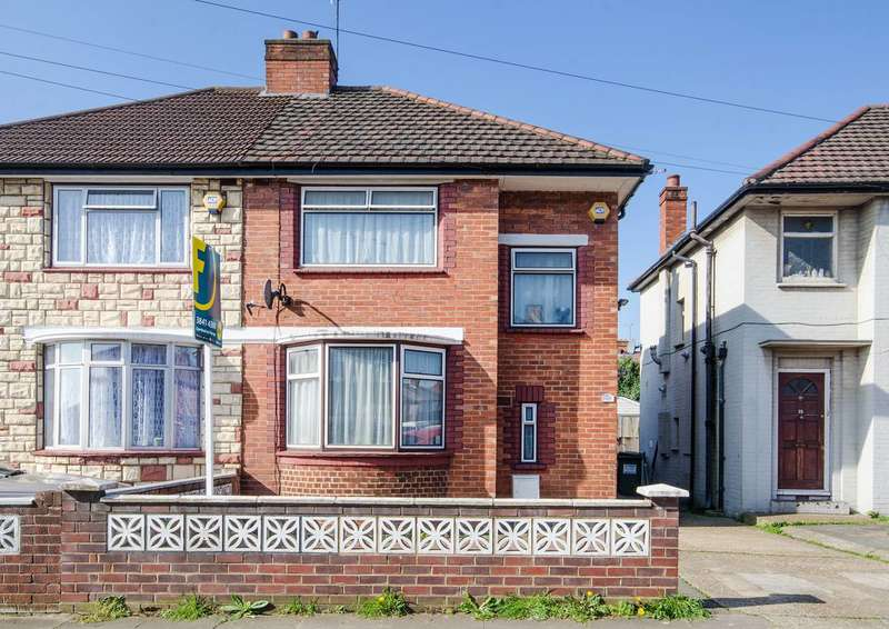 3 Bedrooms Semi Detached House for sale in Longley Avenue, Alperton, HA0