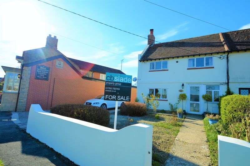 2 Bedrooms Semi Detached House for sale in Purton Stoke, Wiltshire.