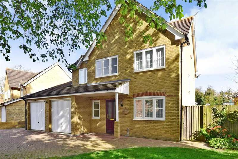 4 Bedrooms Detached House for sale in Nurserylands, Herne Bay, Kent