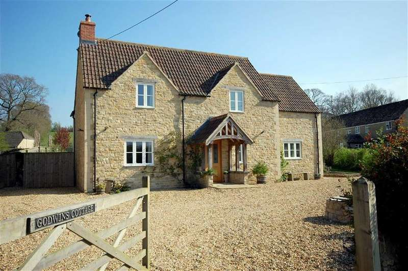 3 Bedrooms Detached House for sale in Godwins Cottage, Rodbourne Bottom, Malmesbury