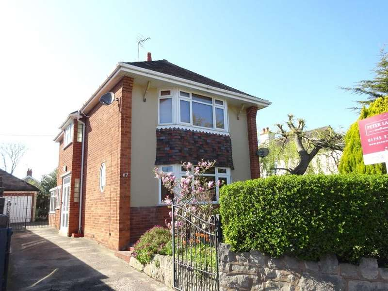2 Bedrooms Detached House for sale in Rhuddlan Road, Rhyl