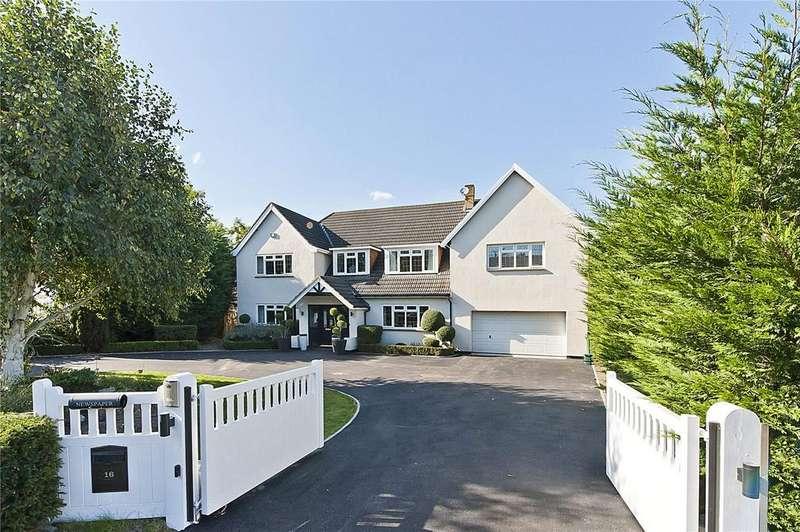5 Bedrooms Detached House for sale in Cleves Wood, Weybridge, Surrey, KT13