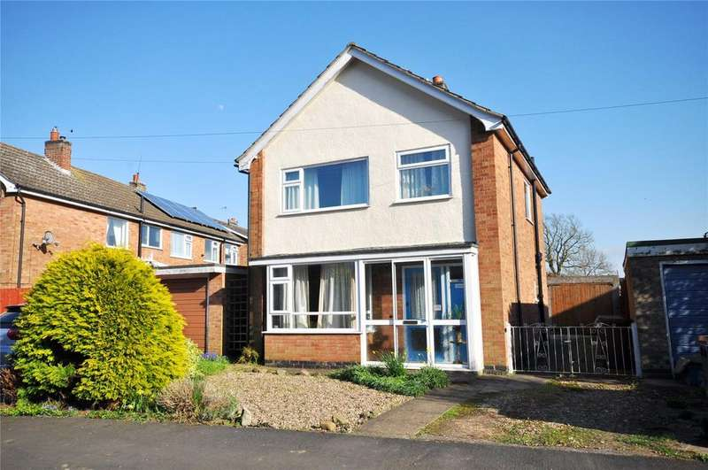 3 Bedrooms Detached House for sale in Townend Close, Asfordby, Melton Mowbray