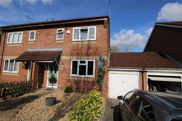 3 Bedrooms Semi Detached House for sale in Nuffield Close, Swindon