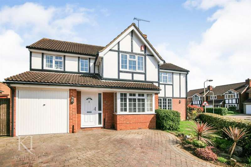 5 Bedrooms Detached House for sale in Lawrence Avenue, Stanstead Abbotts