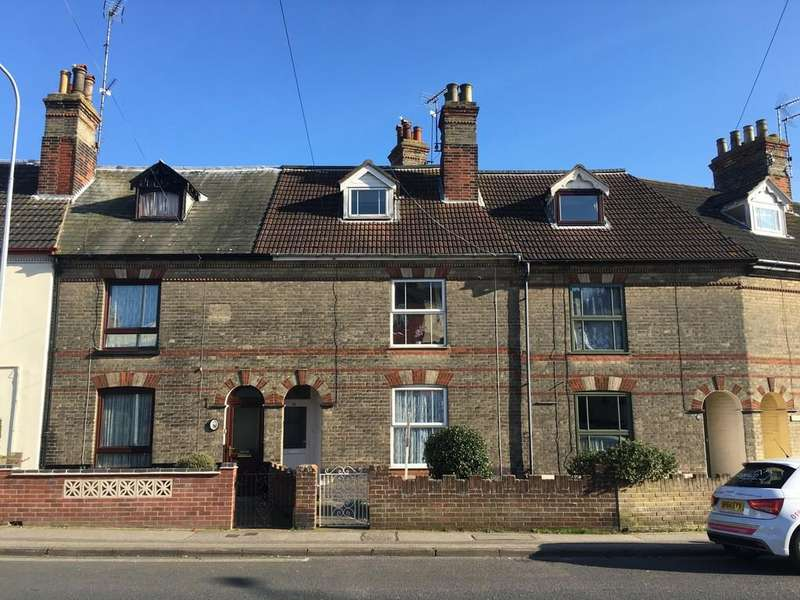 4 Bedrooms Terraced House for sale in Rotterdam Road, North Lowestoft