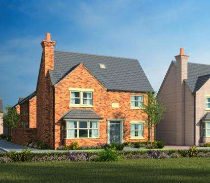 5 Bedrooms Detached House for sale in Papplewick Farm, Hucknall
