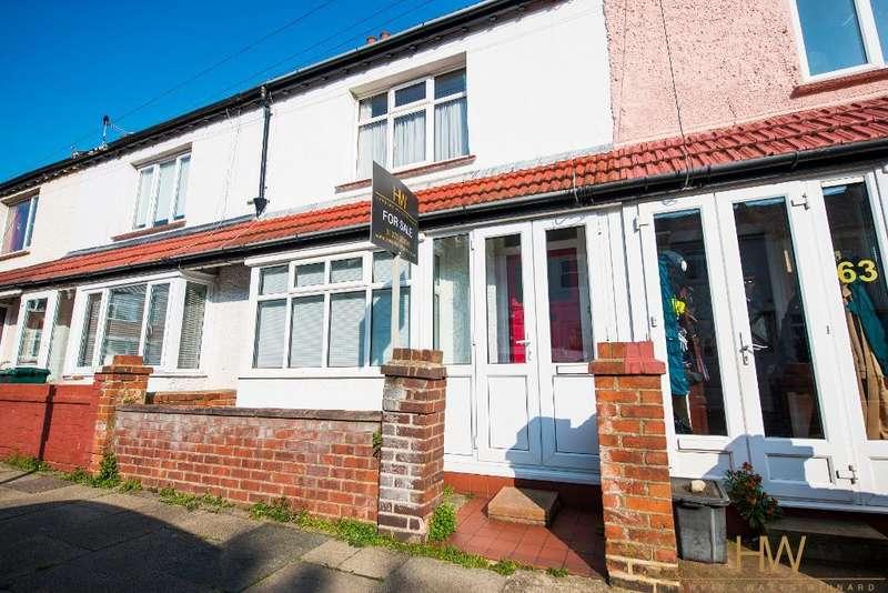 2 Bedrooms Terraced House for sale in Grange Road, Hove, BN3 5HW