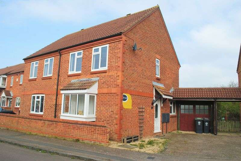 2 Bedrooms Semi Detached House for sale in Ennerdale Road, Rushden