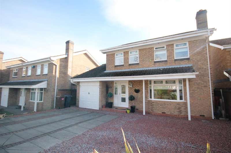 4 Bedrooms Detached House for sale in Croftside, Etherley Moor, Bishop Auckland