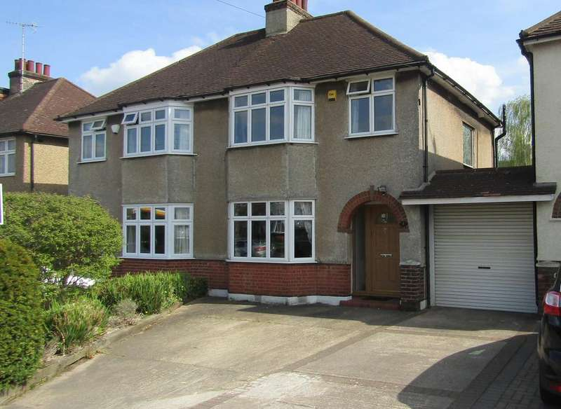 3 Bedrooms Semi Detached House for sale in Bullhead Road, Borehamwood, Herts WD6