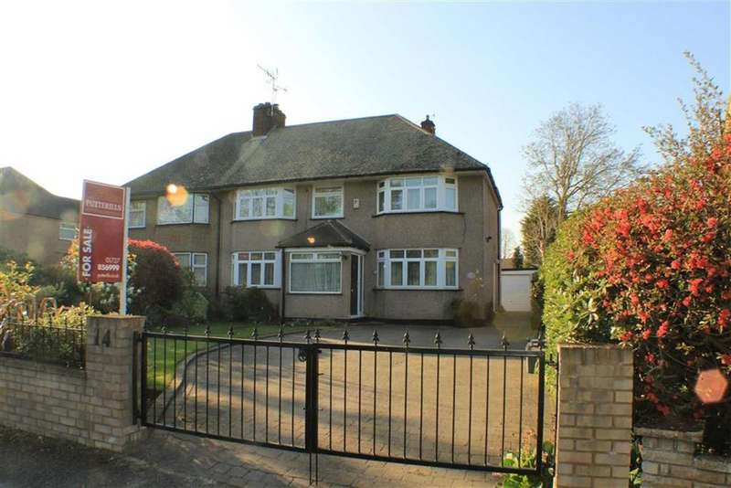 5 Bedrooms Semi Detached House for sale in Sleapcross Gardens, St Albans, Hertfordshire