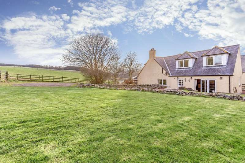 4 Bedrooms Semi Detached House for sale in 2 Hoardweel Farm Cottage, Duns, TD11 3RY