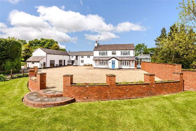 6 Bedrooms Detached House for sale in Lower Mountain Road, Penyffordd, Chester, CH4