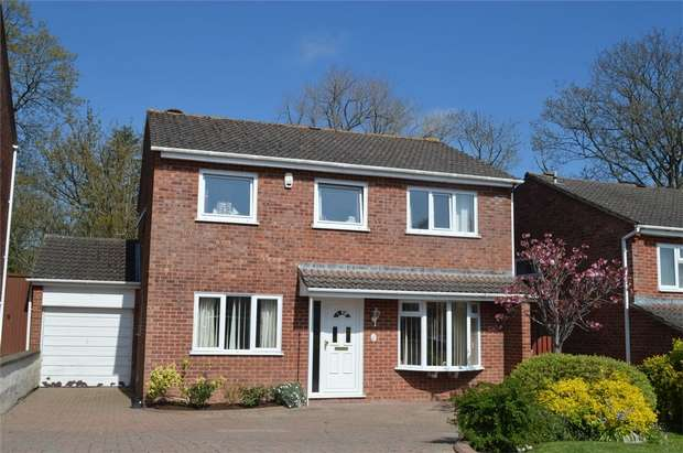 4 Bedrooms Detached House for sale in 30 Valley Way, EXMOUTH, Devon