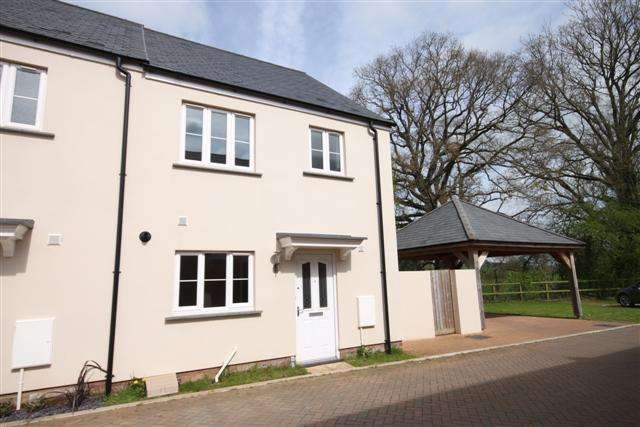 3 Bedrooms Semi Detached House for sale in Cullompton EX15