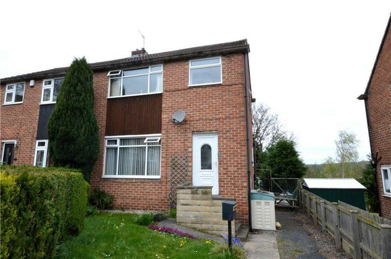 3 Bedrooms Semi Detached House for sale in St Andrews Close, Rodley, Leeds, West Yorkshire