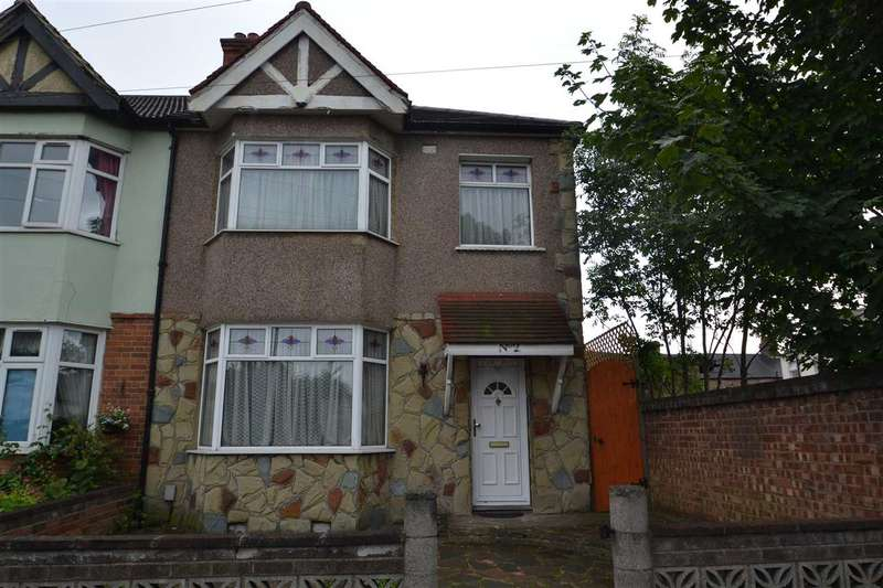 3 Bedrooms End Of Terrace House for sale in Cavenham Gardens, Ilford, Ilford
