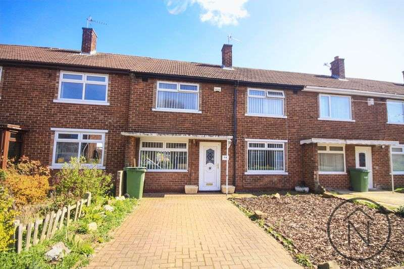 3 Bedrooms Terraced House for sale in Sidlaw Road, Billingham