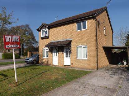 2 Bedrooms Semi Detached House for sale in Wavell Close, Yate, Bristol, Gloucestershire