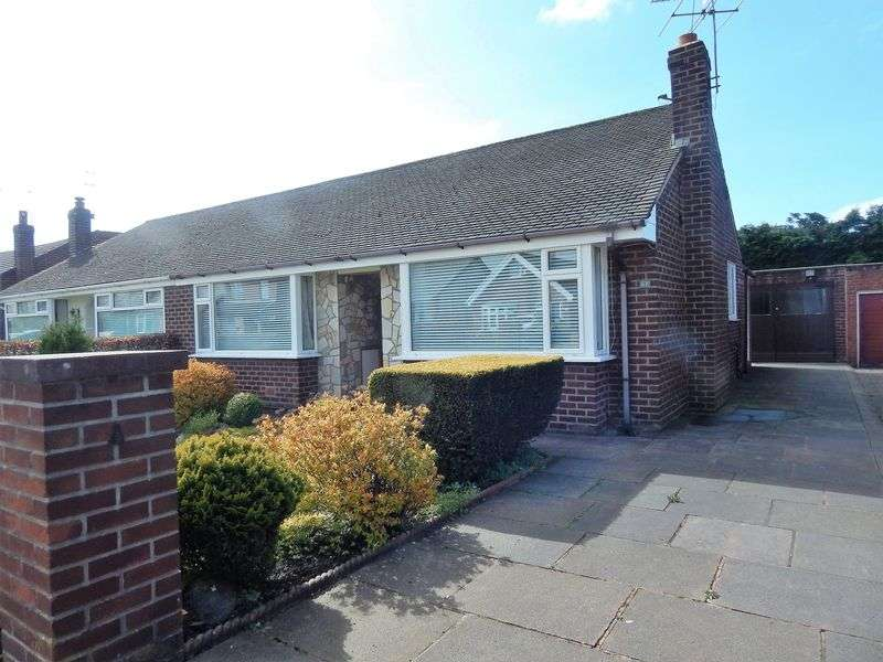 2 Bedrooms Semi Detached Bungalow for sale in Hall Lane, Leyland