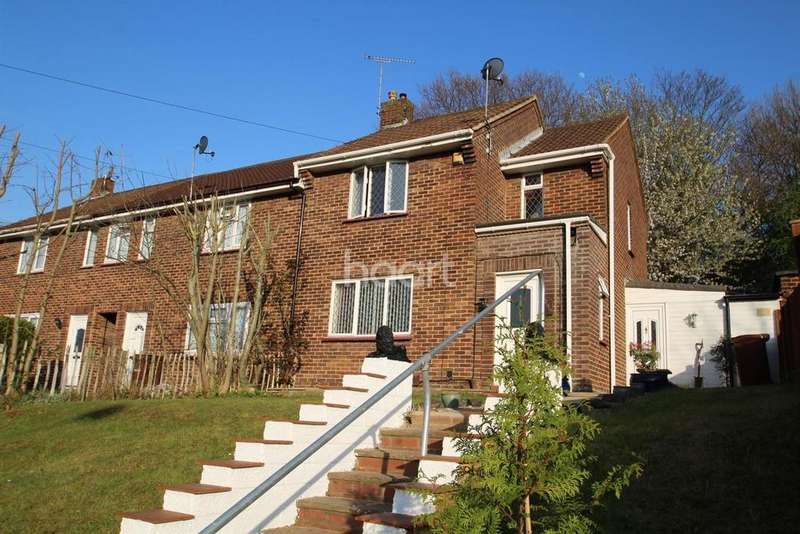2 Bedrooms End Of Terrace House for sale in Churchill Avenue, Chatham